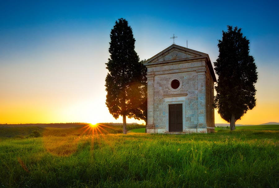 Cappella-di-Vitaleta-Toscana